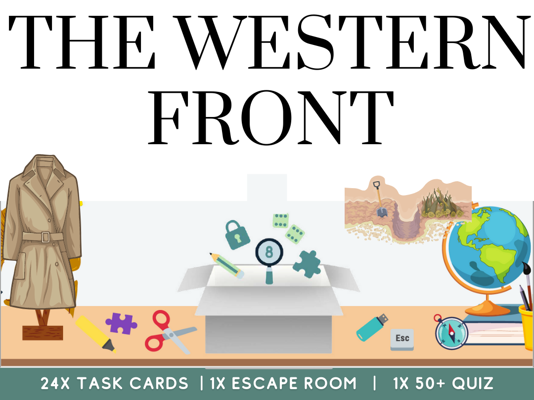 Western Front and WW1 History Bundle