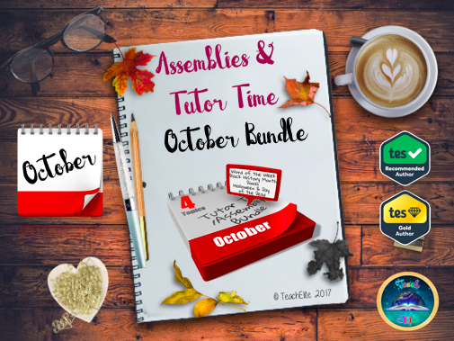 October Assembly & Tutor Time Bundle - 50% off with code!!