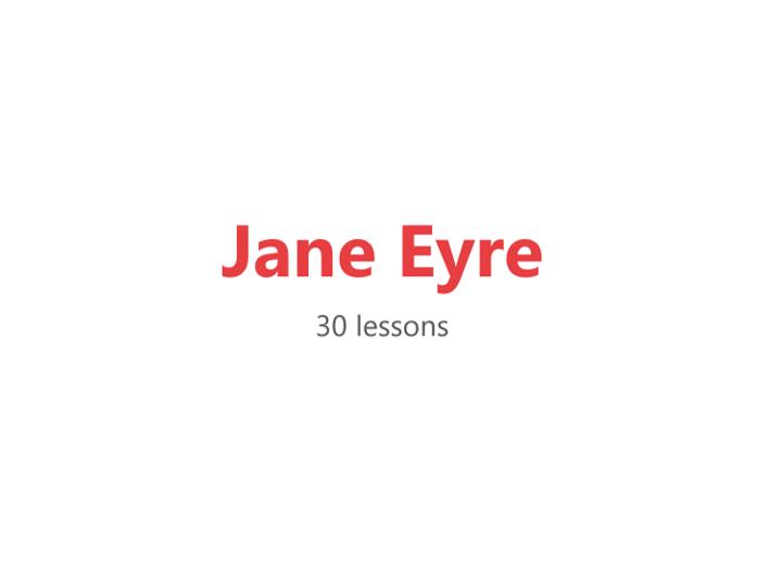 Jane Eyre Scheme of Work