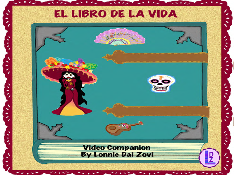 El libro de la vida Video Companion Worksheets and Activities Packet