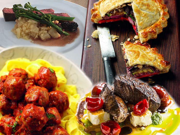 Delectable dishes from the Countryside
