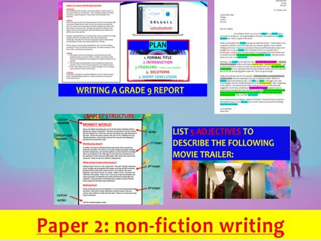 Eduqas GCSE English Language Paper 2 - ALL writing lessons and resources (26 separate resources)