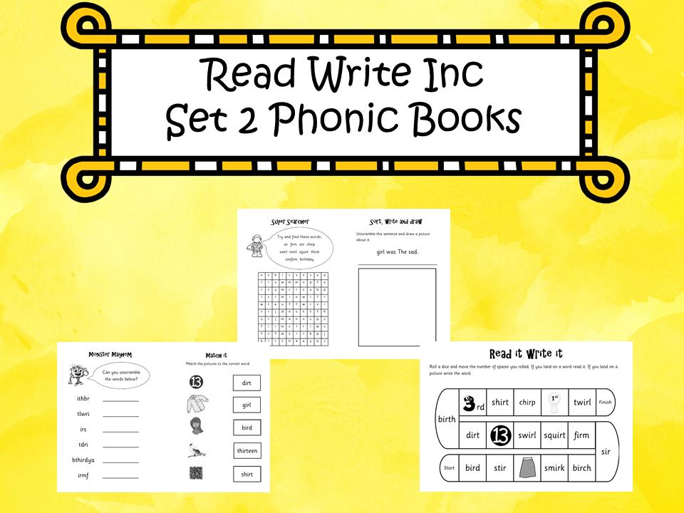 Read Write Inc Set 2 Phonic Books
