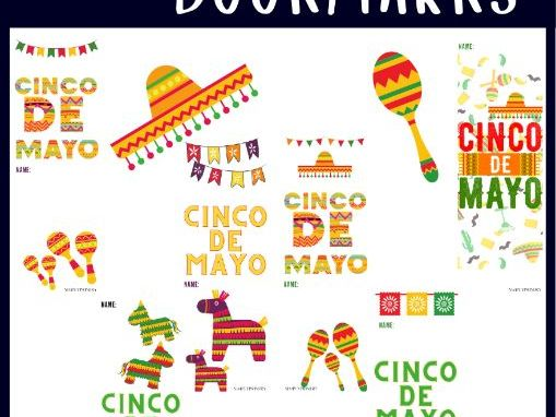Cinco de Mayo Bookmarks