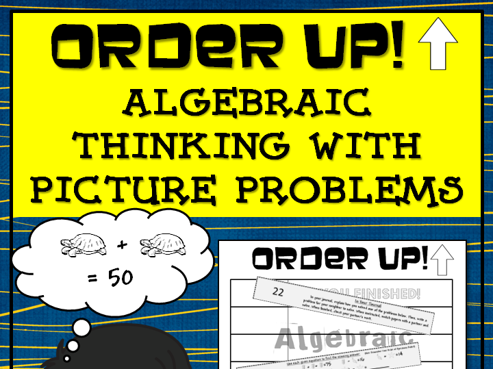 Algebraic Thinking With Pictures - Order Up!