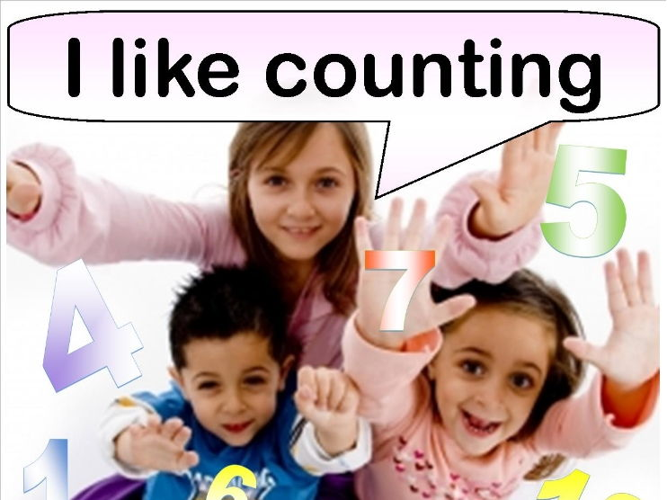 Numbers & Counting rhymes & resources