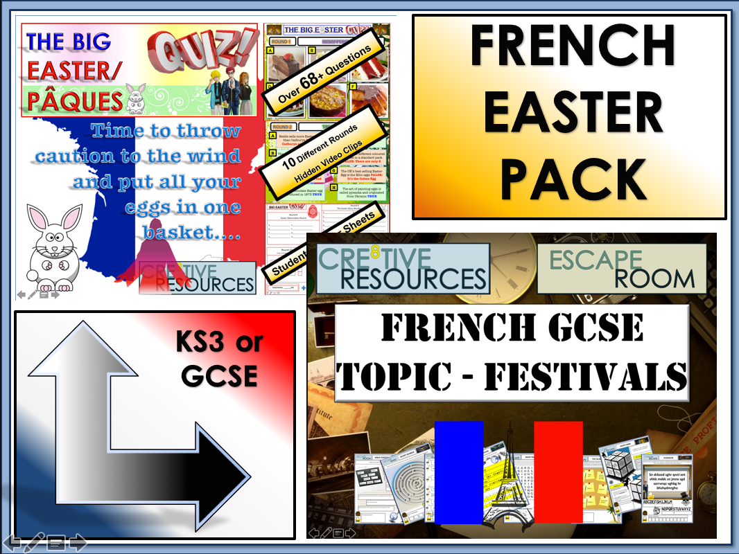 French GCSE Easter Revision