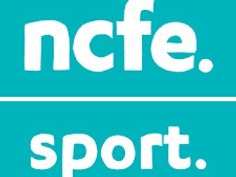 NCFE L2 Sport Plan, Deliver and Evaluate an Activity Session  Unit Pack