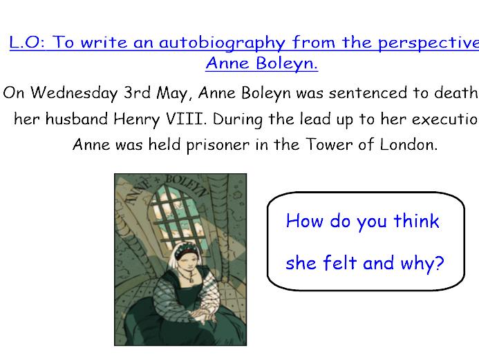 Anne Boleyn - Biography/ Autobiography