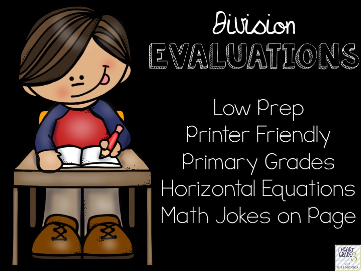 Basic Division Facts Evaluations