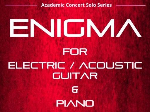Enigma - Acoustic Guitar TAB and Piano  (Score & Parts)