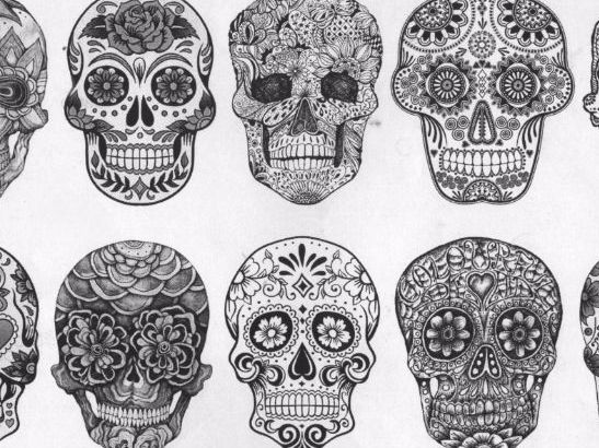 Day of the Dead Skull Designs