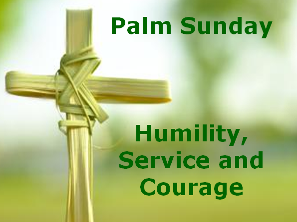 4 assemblies: Easter - Humility, Service and Courage (RE)