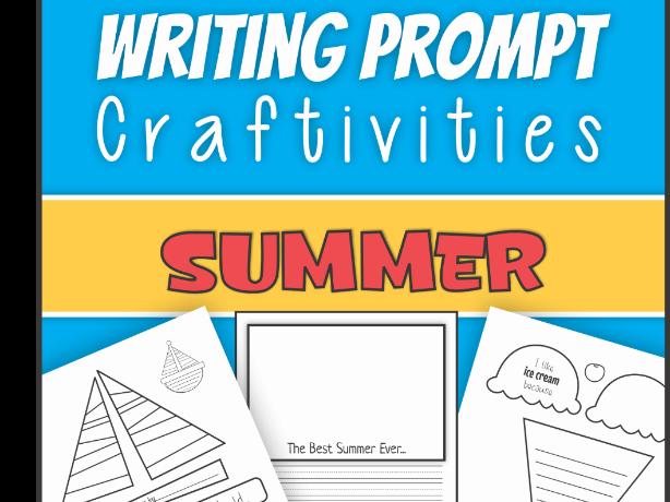 Summer Writing Prompt Activities