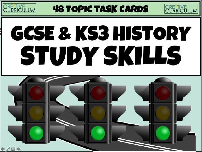 History Topic Cards KS3 and GCSE