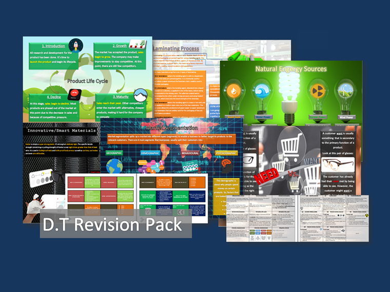 D.T Revision Pack