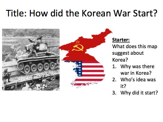 Cold War Containment Korea - Lesson 1