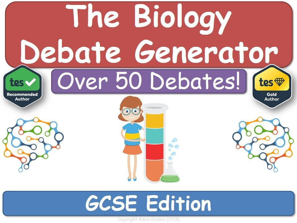 The Biology Debate Generator (GCSE, KS4, Biology)