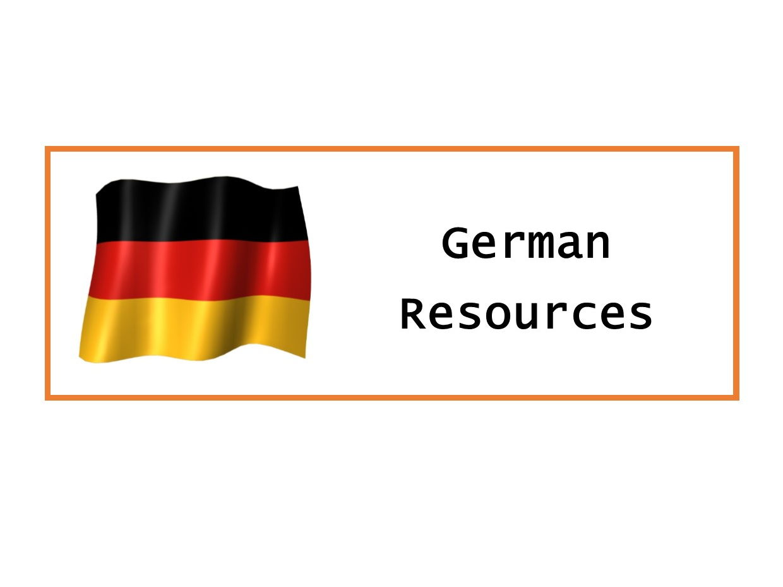 German KS3 Bundle I
