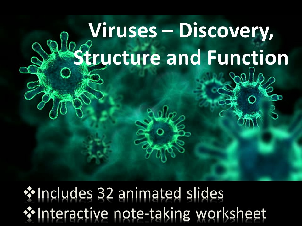 Viruses - Discovery, Structure and Function, Lytic Cycle, Lysogenic, Viral Infection, Reproduction