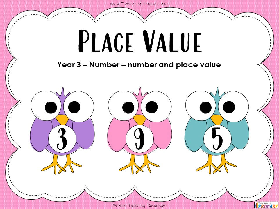 Place Value - Year 3