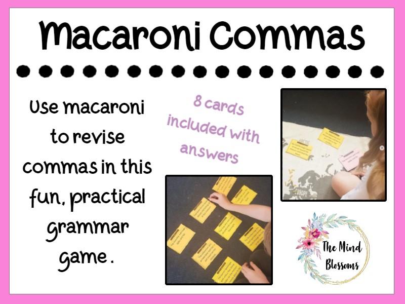 Macaroni Commas
