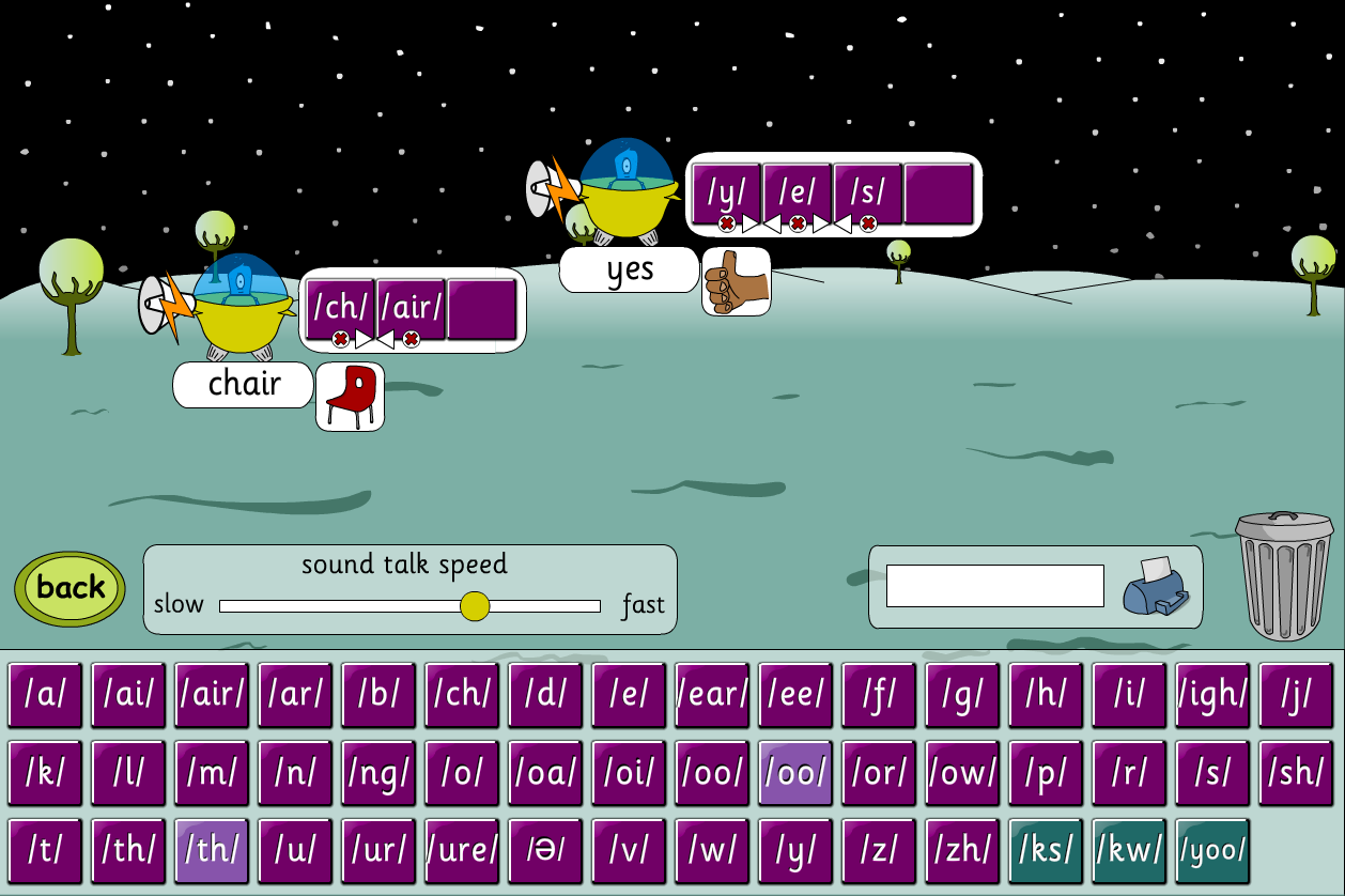 Phoneme Word Builder Game - Phase 3