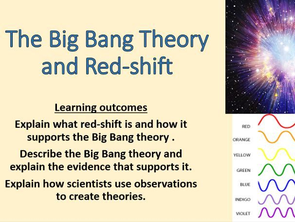 AQA Physics 9-1 - 4.8.2 - Red-shift and the Big Bang