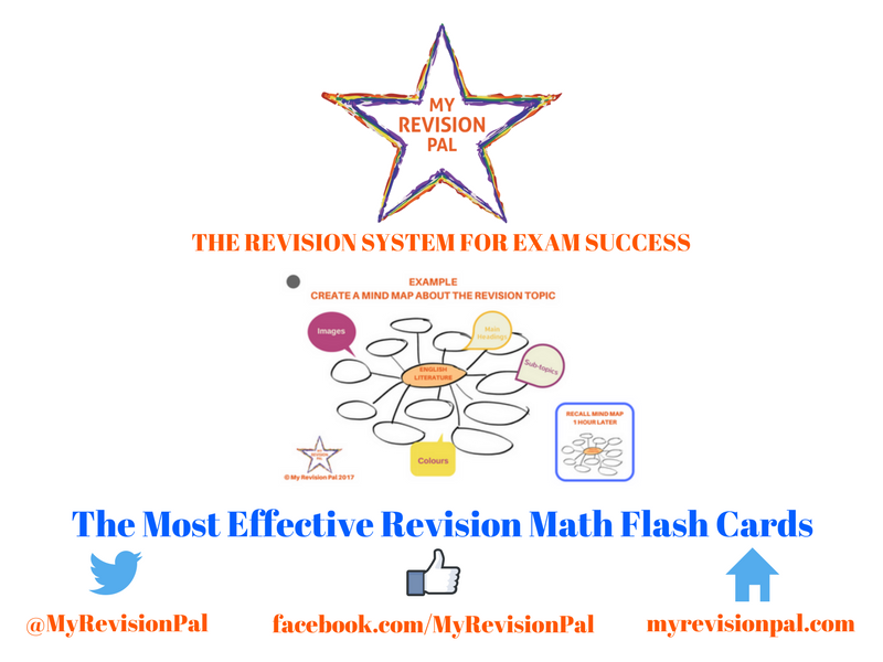 The Most Effective Revision Flash Cards (For Math)