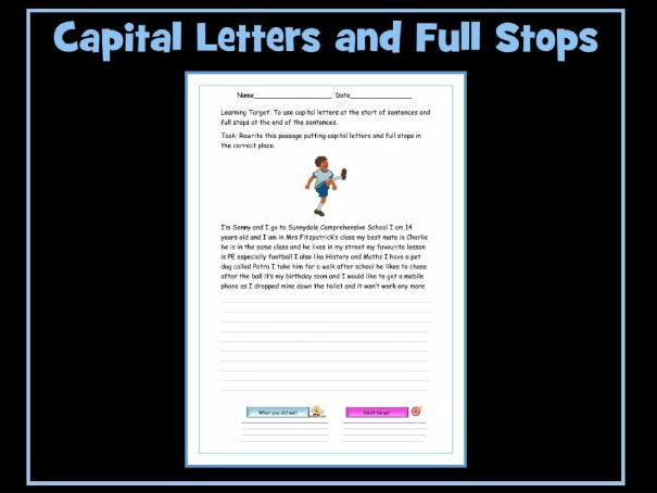 Capital Letters In Email Writing