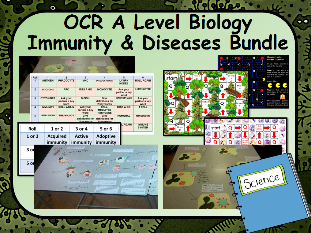 ocr a level biology immunity  u0026 communicable diseases