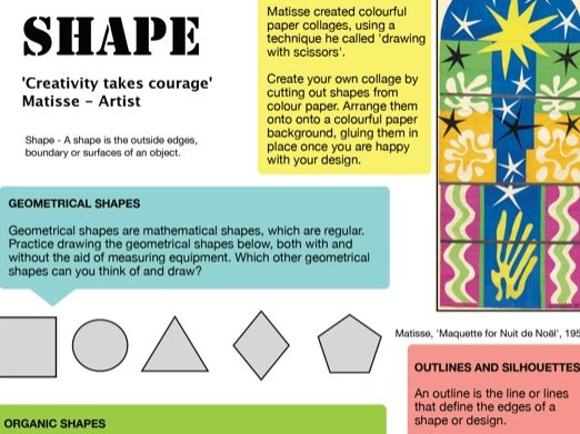 Shape - Formal Elements of Art 2
