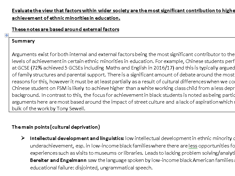 AS A-LEVEL AQA SOCIOLOGY METHODS NOTES