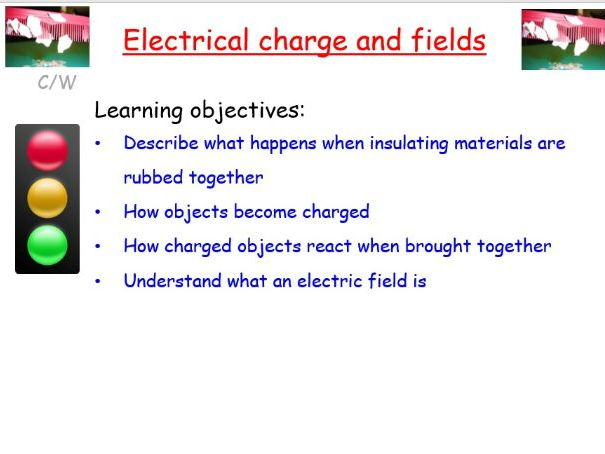 New AQA GCSE physics: Electrical charges and fields