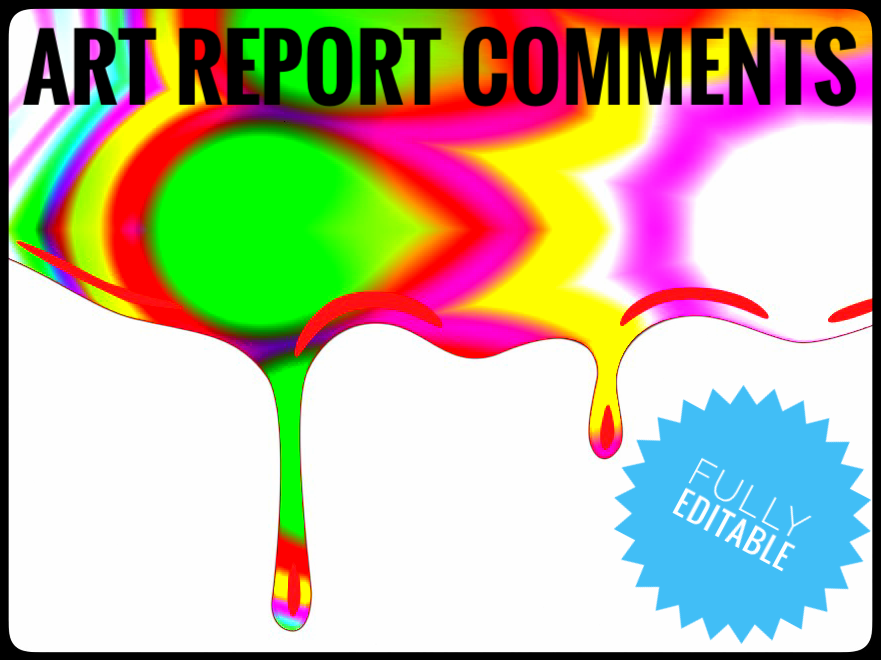 ART Report Comment Banks -ART