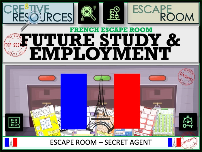 Future Study Employment - French Escape Room