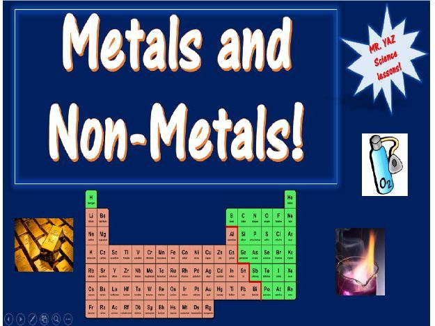 Periodic Table Metals and Non-Metals KS3