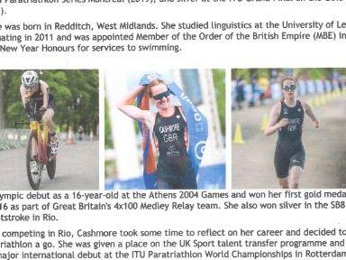 G.B Paralympics- 5 Inspirational women athletes