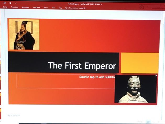 First Emperor (Ancient China)