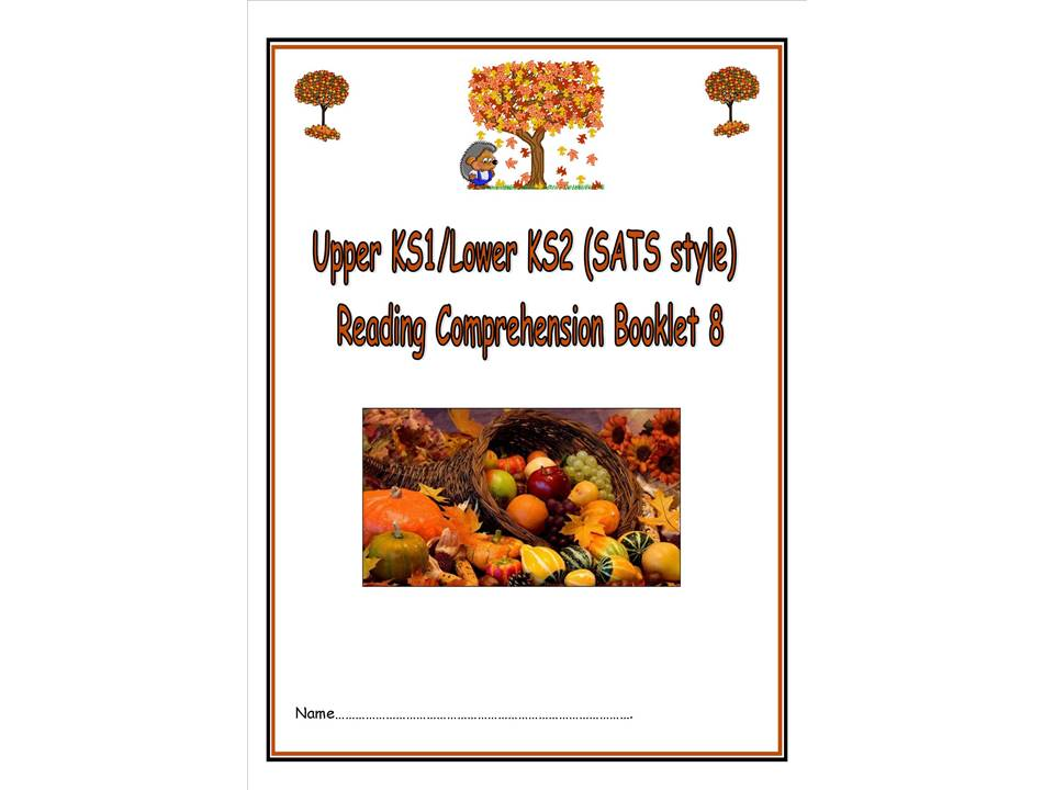 Random seat generator by goldmaths teaching resources tes ks1lks2 sats style autumn themed reading comprehension booklet 8 forumfinder Image collections
