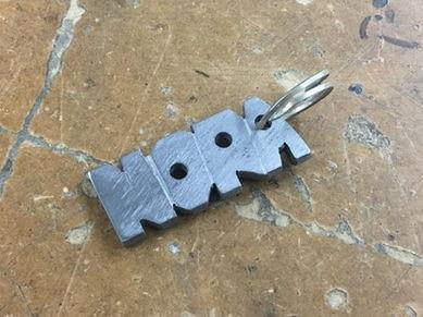 Metal Keyring Lessons