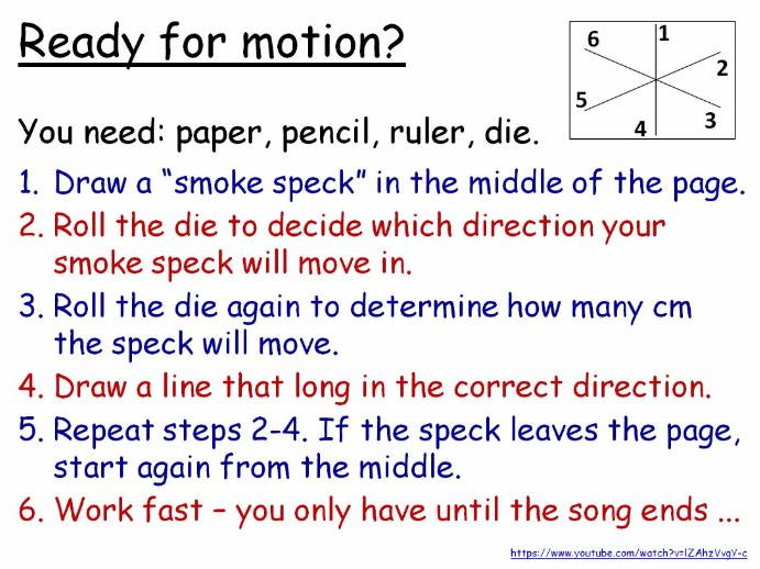 Brownian Motion of Particles Year 7 Lesson PowerPoint (KS3 7Gc) Diffusion Air Pressure