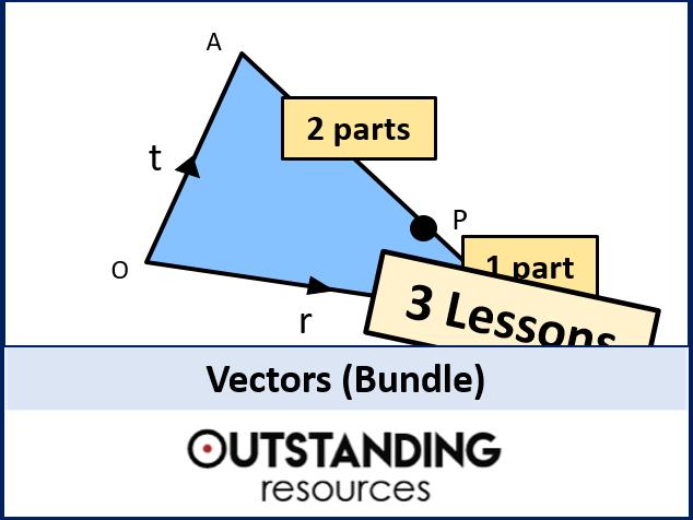 Vectors BUNDLE (3 lessons)