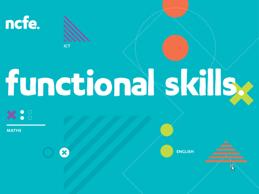 NCFE Level 1 English Functional Skills Resources
