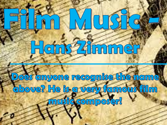 Film Music Composers #2 - Hans Zimmer