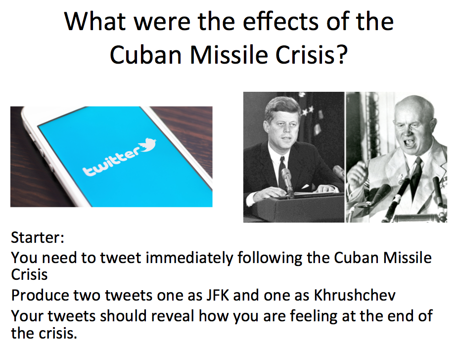Cuba - Lesson 4  the effects of the Cuban Missile Crisis