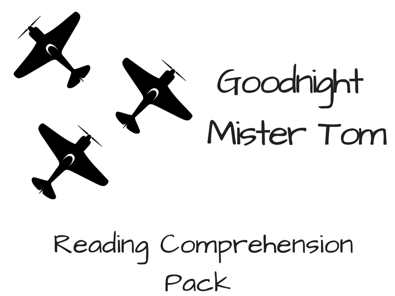 Goodnight Mister Tom - Reading Comprehension