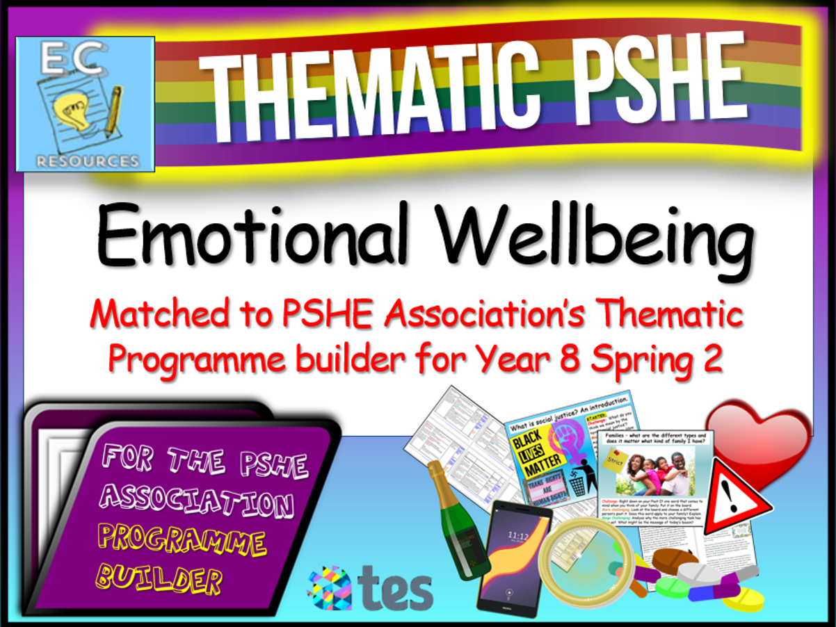 Emotional Wellbeing Thematic PSHE
