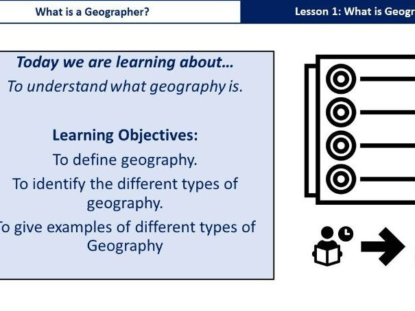 KS3 Key Stage 3. Introduction to Geography. What is Geography?  Year 7