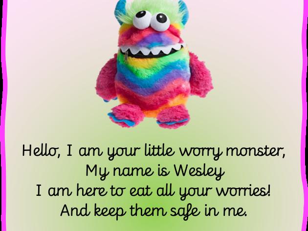 Worry Monster Poem